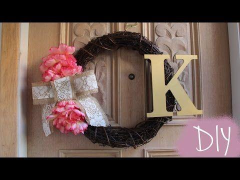How To Make A Wreath Cute And Easy Diy Wreath