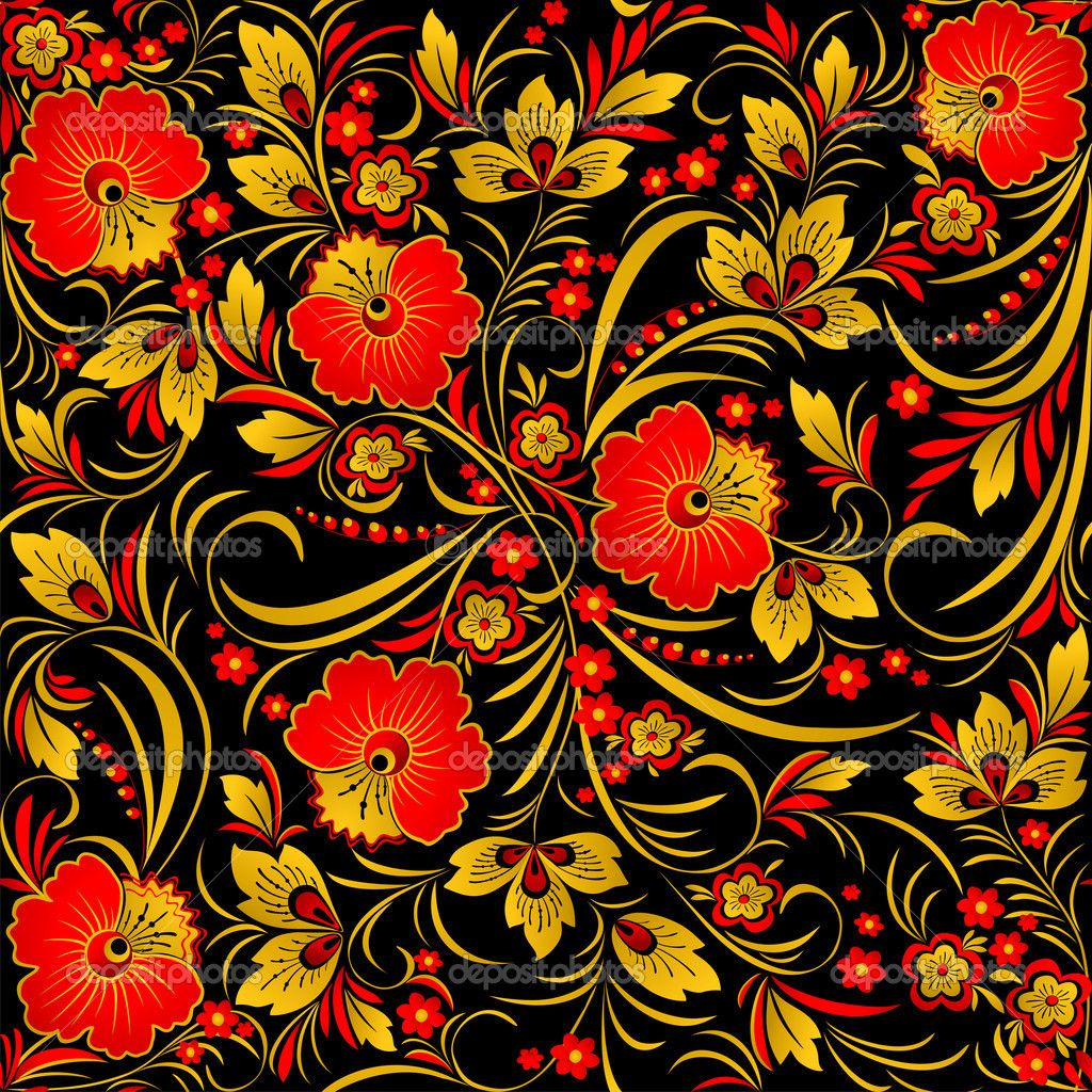 Image Result For Russian Folk Patterns