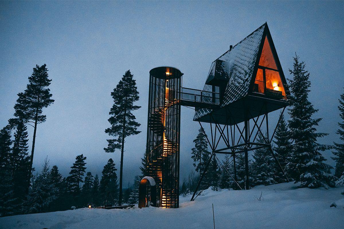 Cabin Rentals A Door To The Wild Pan Tree Top Cabins Apocalypse House Magical Home Tree Tops