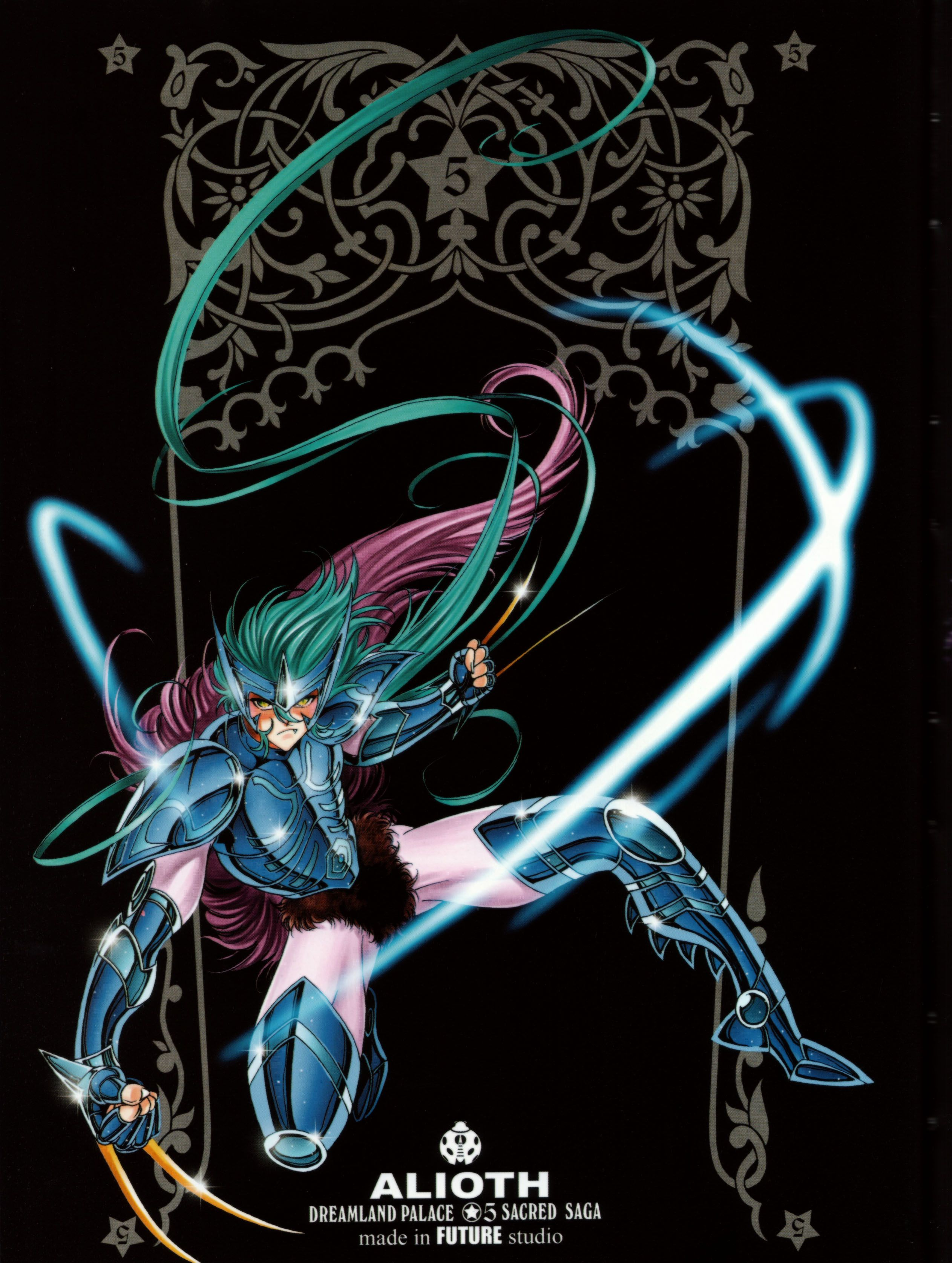 Males Saint Seiya Masami Kurumada Future Studio Saint Seiya Future Studio God Warrior Alioth Epsilon Fenrir