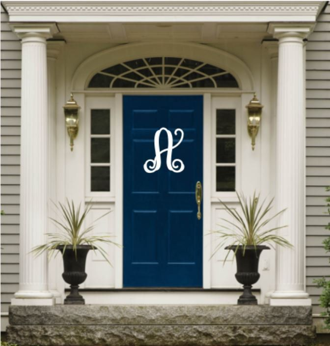 Bon Weatherproof Vine Monogram House Sign, Monogrammed Wreath, Monogram Wreath,  Door Monogram, Front