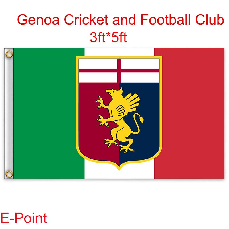 Genoa Custom Soccer Sports Flags Flags For Sale