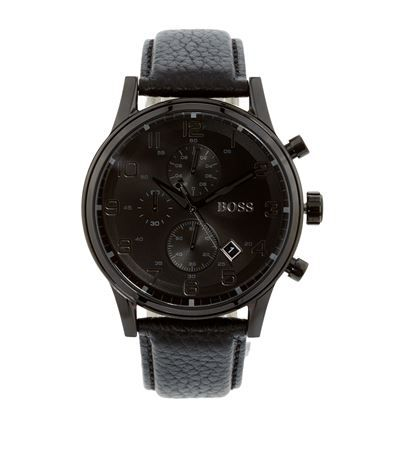 Hugo Boss Ikon Chronograph Watch available to buy at Harrods. Shop online and earn Rewards points.