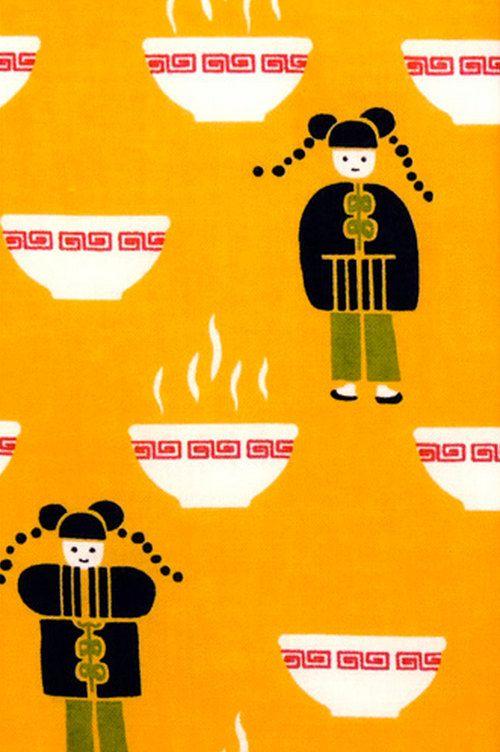 Japanese Tenugui Towel Cotton Fabric, Hand Dyed Fabric, Kawaii ...