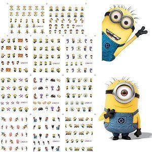 minion sticker sheet