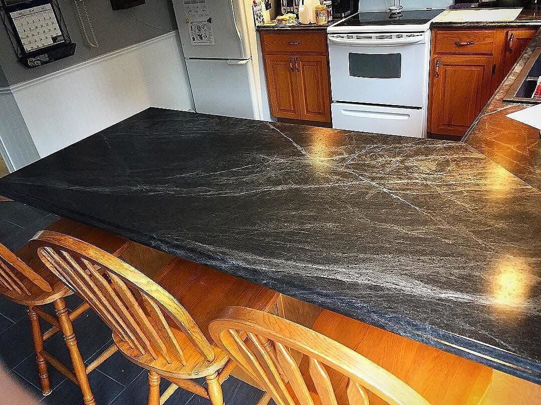 Loving This Finished Peninsula In 180fx 3476 46 Jet Sequoia In Etchings Finish Via Eastcoastcountertops Get Your Free Sampl 180fx Formica Laminate Formica
