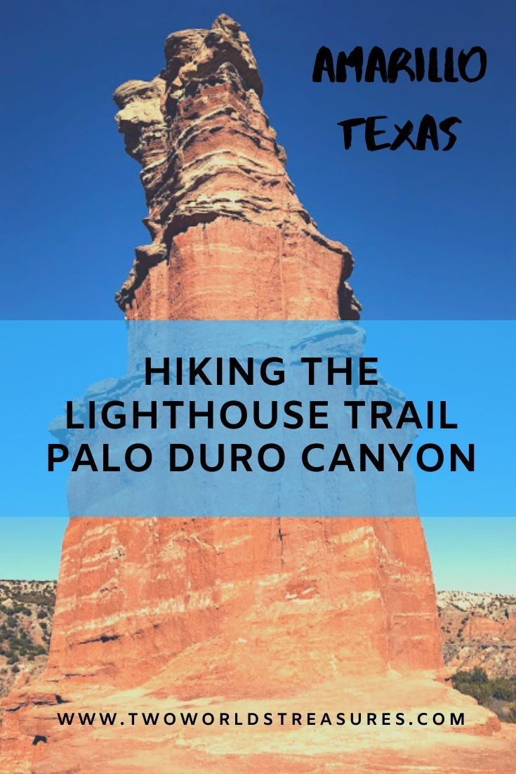 Hike the most popular trail in Palo Duro Canyon SP, the ...