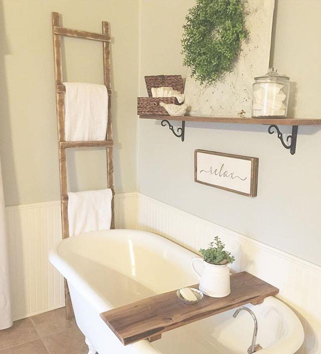 Best inspire farmhouse bathroom design and decor ideas (78 ...