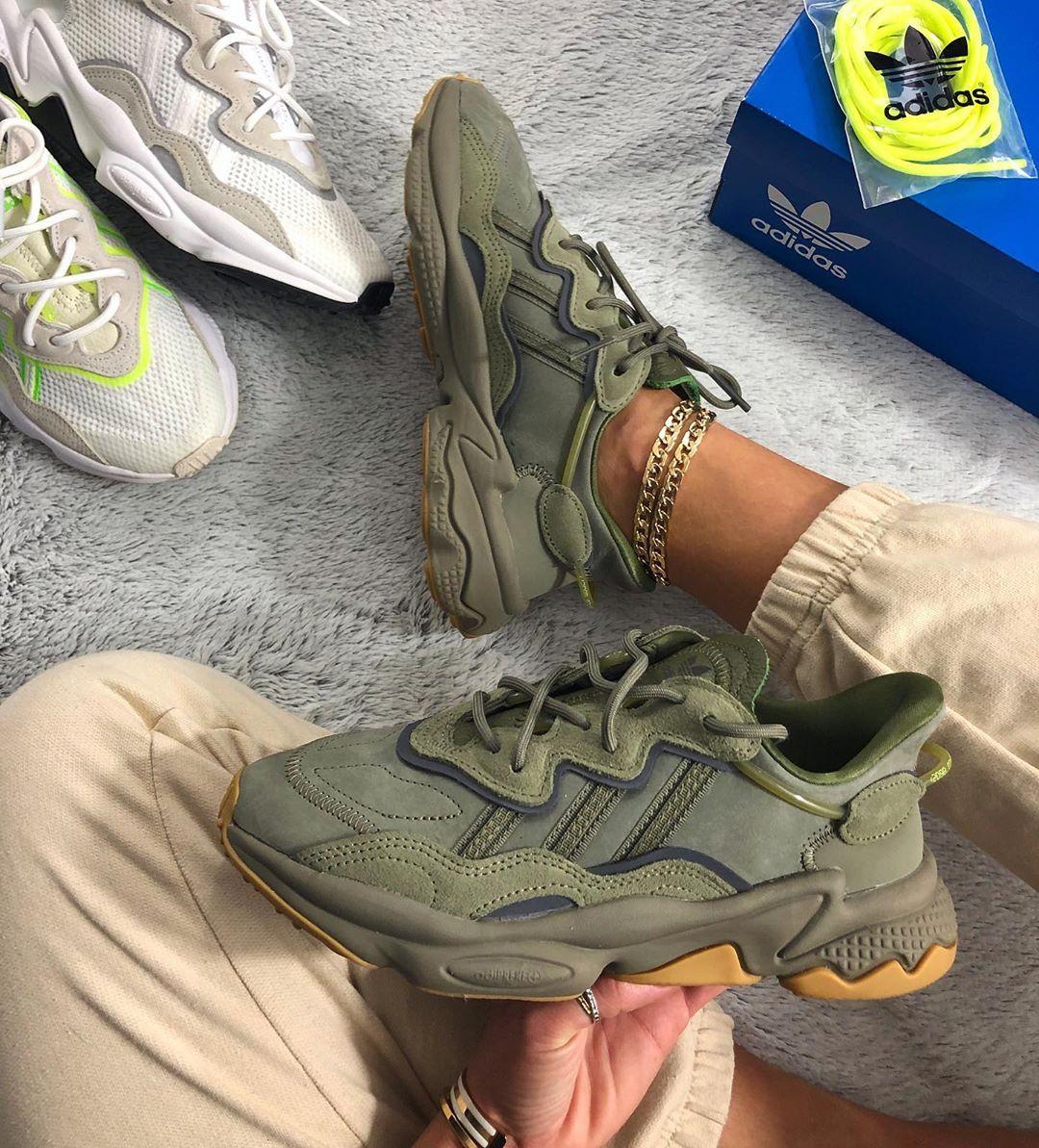 Adidas Originals Ozweego In 2020 Nike Air Schuhe Sneakers Mode Adidas Originals Sneaker