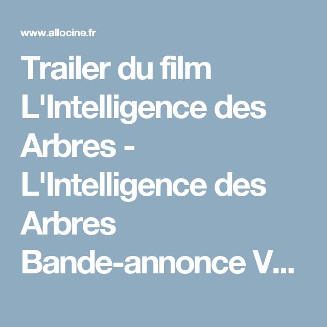 Trailer Du Film Lintelligence Des Arbres Lintelligence Des Arbres Bande