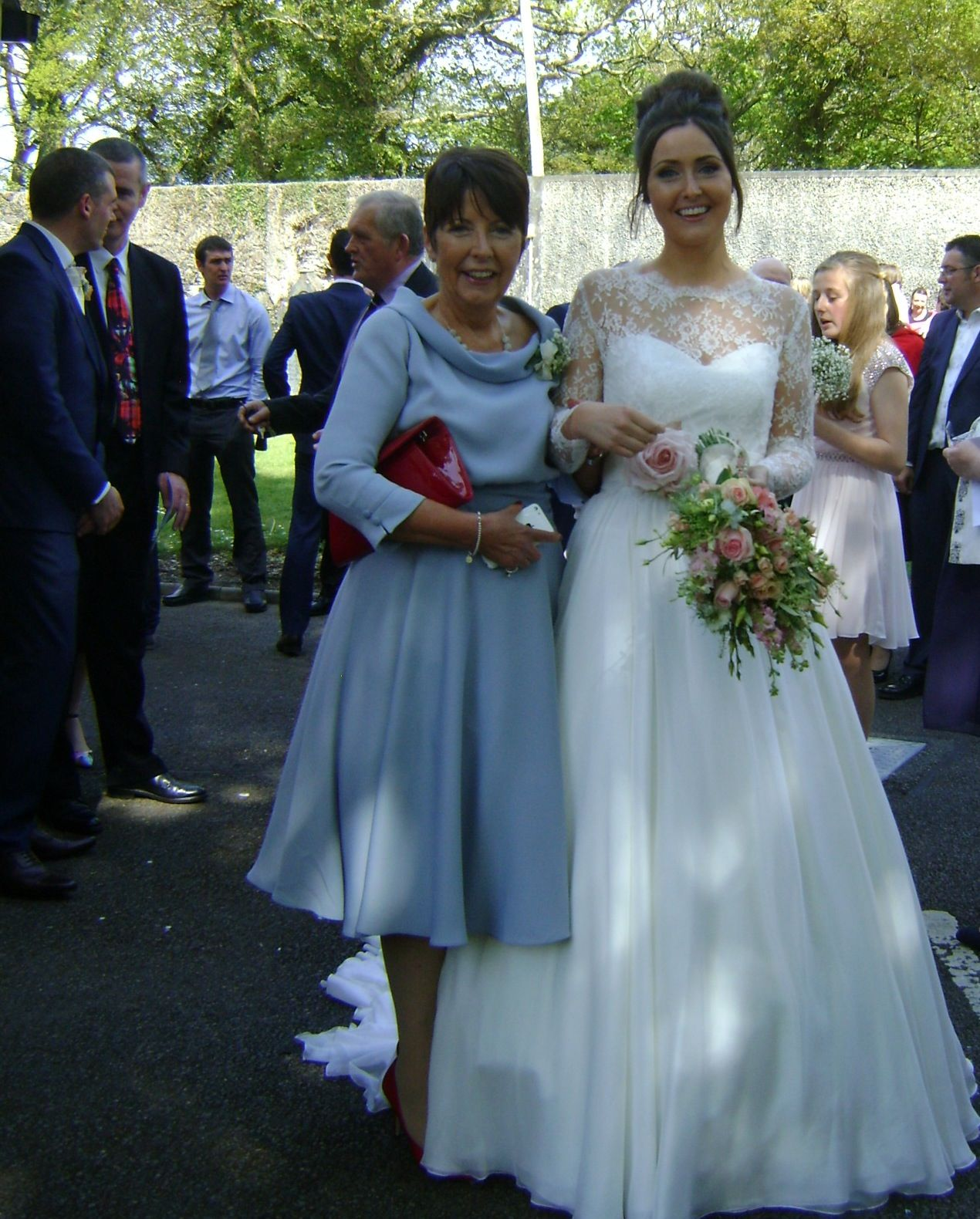 Duck egg blue - one different and elegant #Mother of the Bride ...