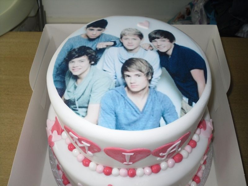 One Direction Birthday Cake Ideas One Direction birthday cakes