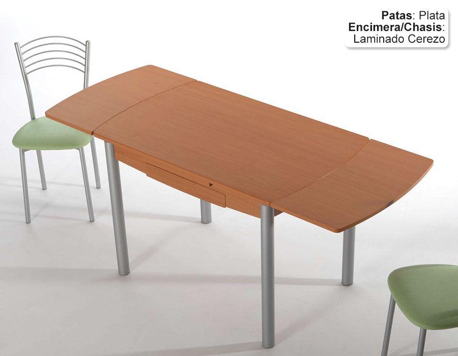 Mesa de Cocina Extensible Eco Bailen Encimera Laminado (2 Extensibles)