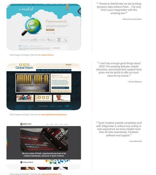 Sitegrinder 3 overview youtube.