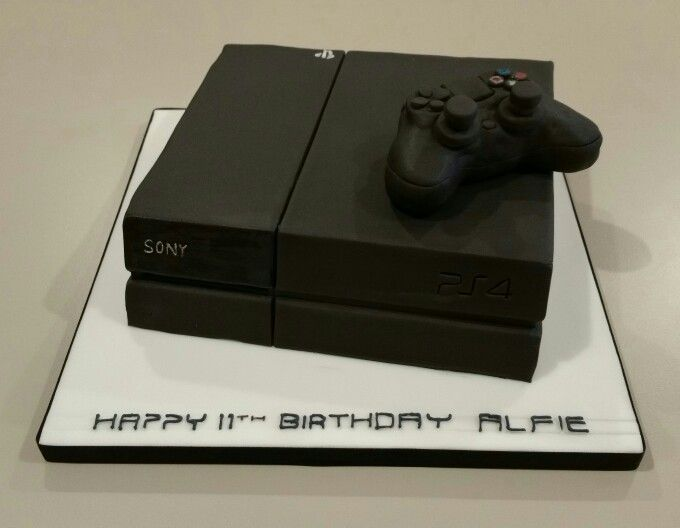 PS4 Birthday Cake 4th Cakes 13th Ps4 Playstation