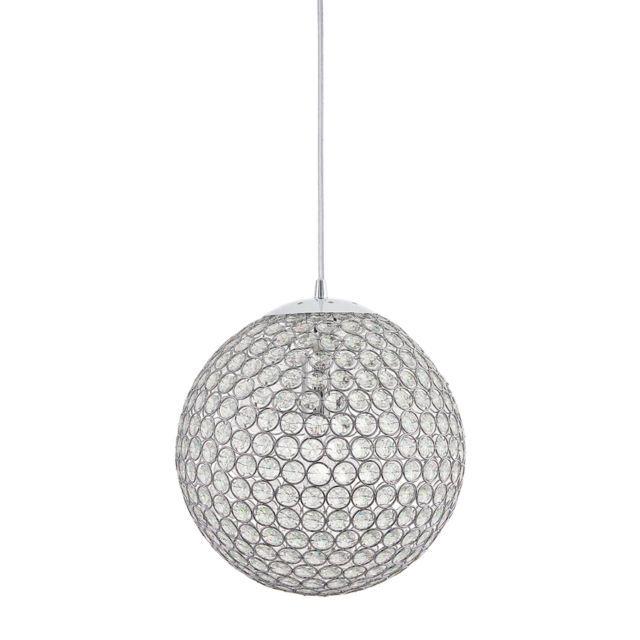 Kichler crystal globe ball pendant ceiling hanging light lighting kichler crystal globe ball pendant ceiling hanging light lighting fixture chrome aloadofball Choice Image