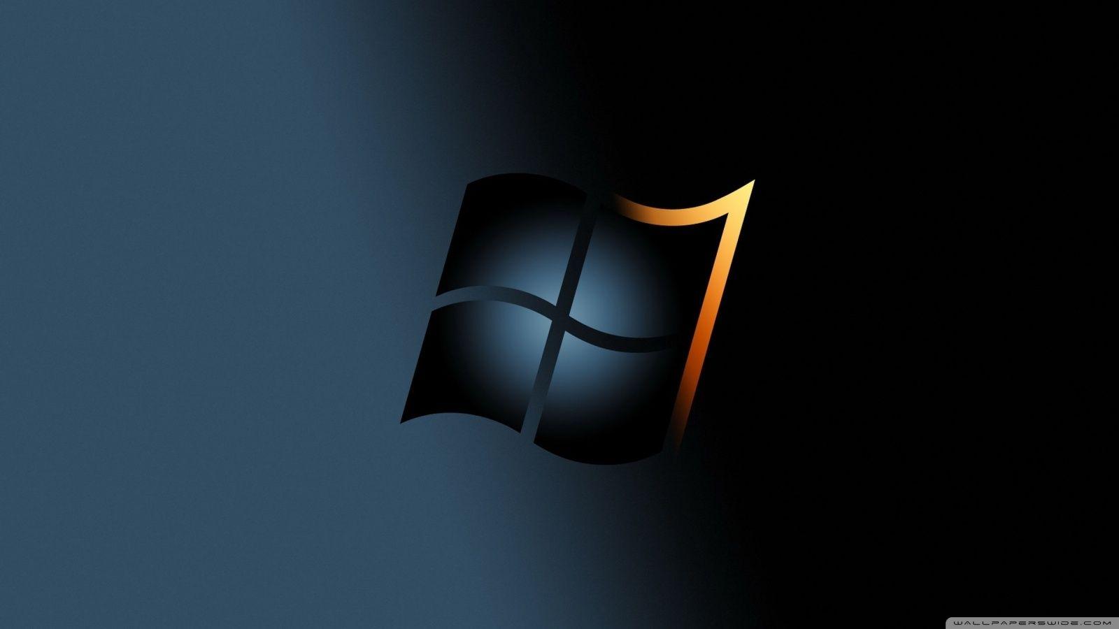 Windows 7 Dark Hd Desktop Wallpaper High Definition Fullscreen Wallpaper Pc Computer Wallpaper Hd Wallpaper Desktop