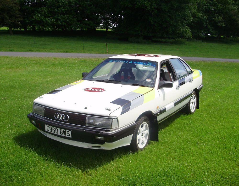 1986 audi 200 quattro turbo genuine group a stage rally. Black Bedroom Furniture Sets. Home Design Ideas