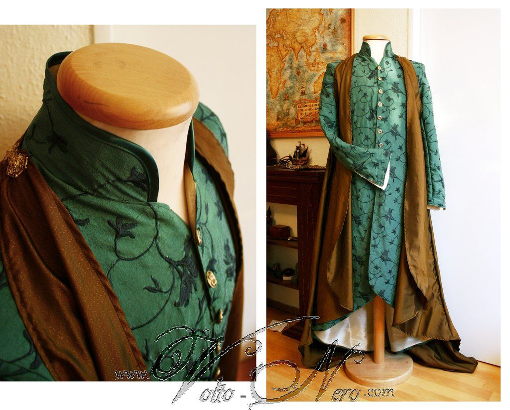 Hobbit gmail theme - Lord Elrond Robe The Hobbit Cosplay Costume By Volto Nero Costumes