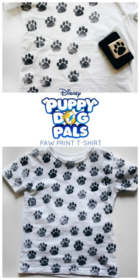 Puppy Dog Pals Paw Pring T Shirt Client Puppy Dog Pals Bday