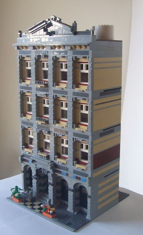lego office building. Century Office Tower :: My LEGO Creations. A Typical Of The Period Between 1880 And This Design Incorporates Use Light Dark Lego Building E