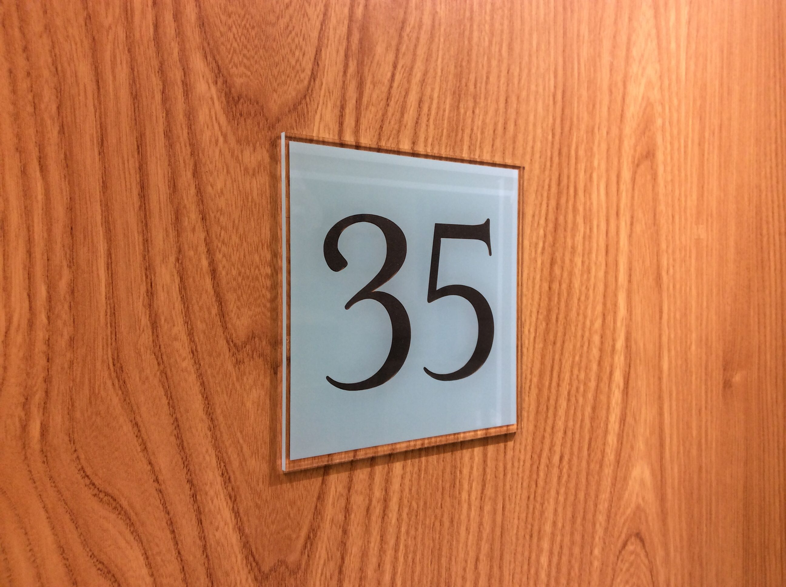 Door Numbers for Hotels, apartments, flats www.de-signage.com ...