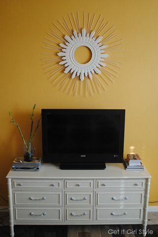 dresser tv stand   Yard/outdoor Space   Pinterest   Dresser tv stand ...