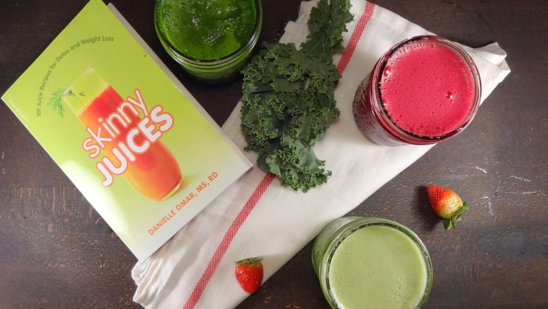 Cookbook Review: Skinny Juices by Danielle Omar, MS, RD - Colleen's Kitchen