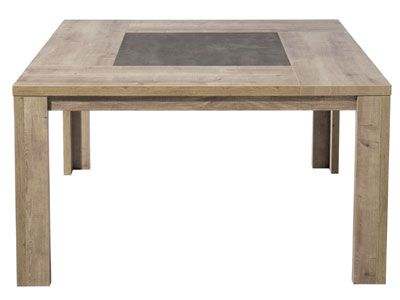 Table Conforama Table Carree Brest Prix 469 00 Euros Table Carree Table Cuisine Conforama Table