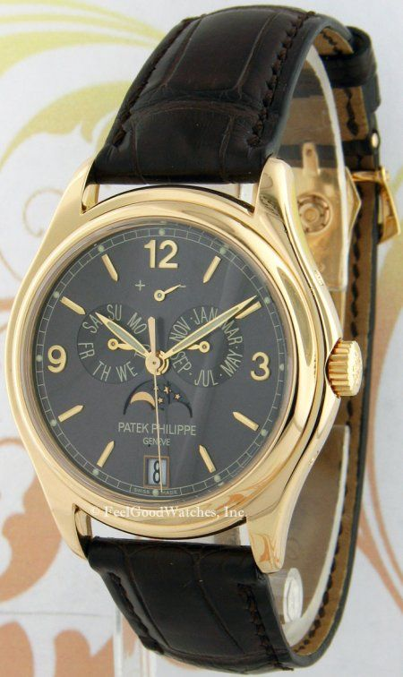 Patek Philippe 5146J Annual Calendar, Yellow Gold
