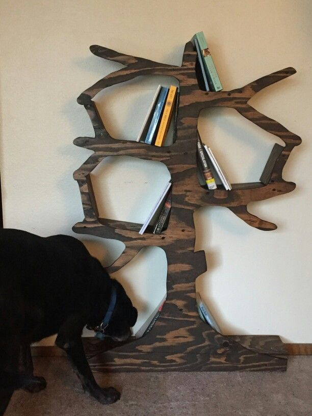 Handmade Tree Bookshelf For Nursery Or Kids Room From Enchanted Home Designs Etsy