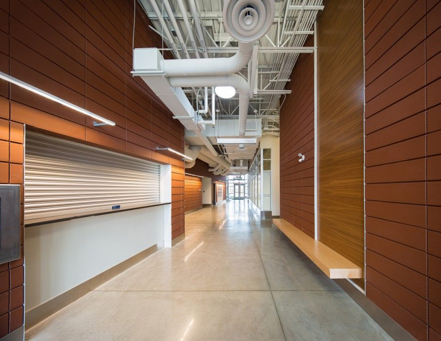 The Seton MultiServices Facility features a full