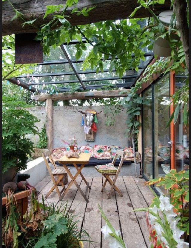 Les plus belles terrasses de pinterest campagne - Les plus belles terrasses ...