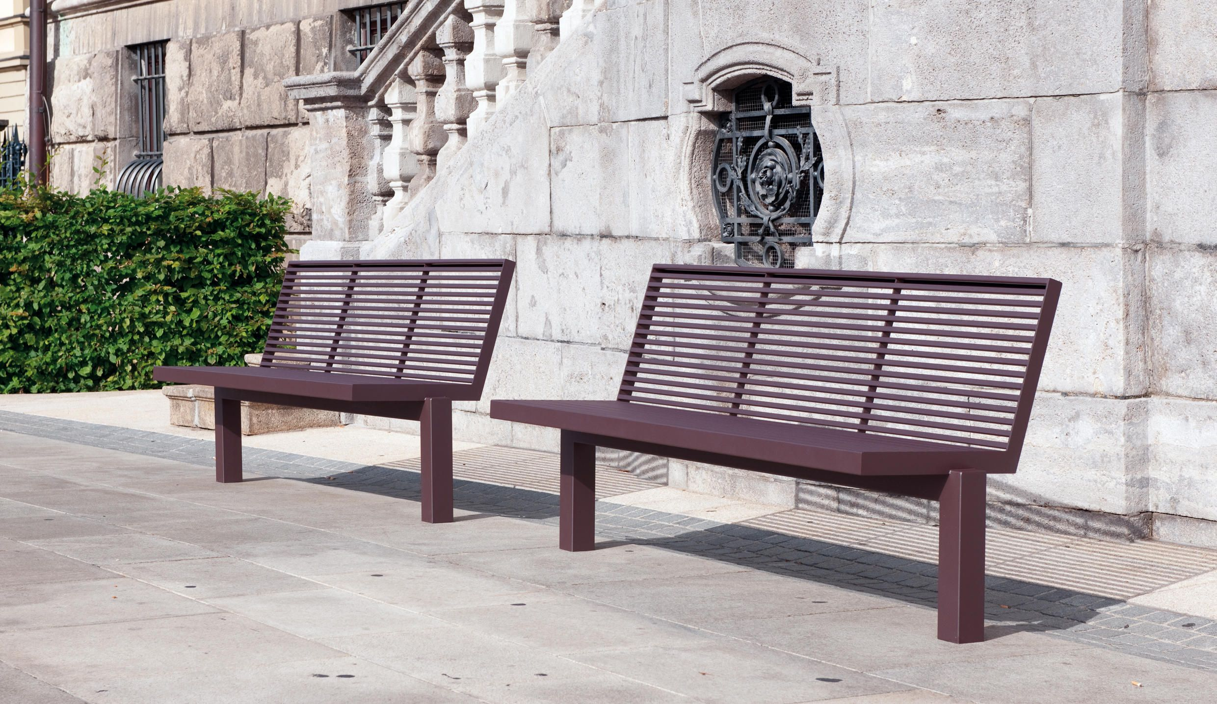 SICORUM M 400 BENCH WITHOUT ARMRESTS - Designer Exterior benches ...