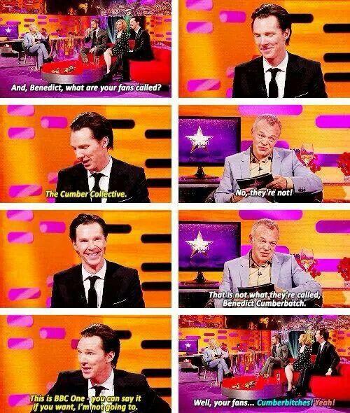 I'm a Cumber-anything...