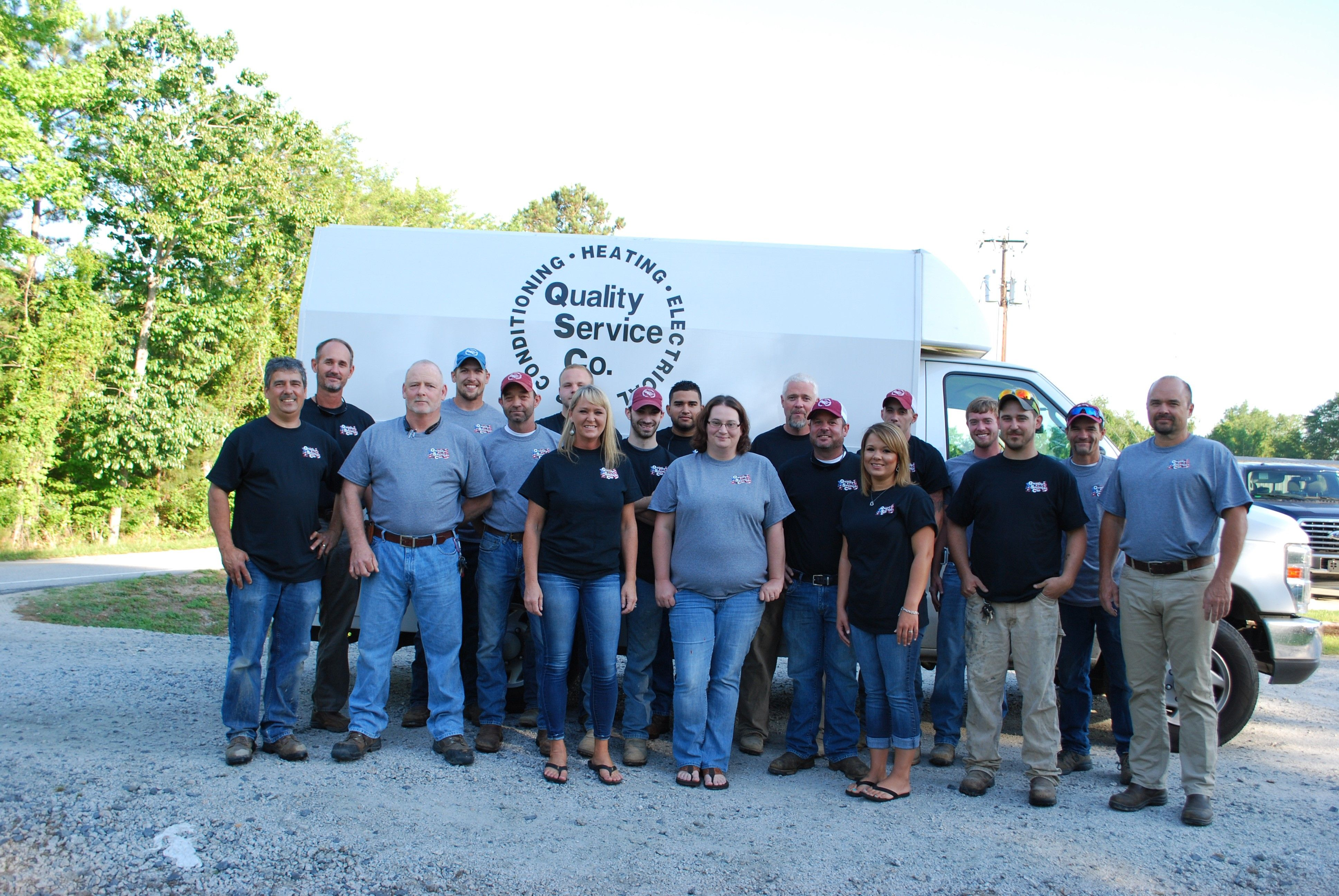 to Quality Service Company. We are the premier