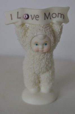 Vintage Snowbabies I Love You Mom Figurine Department Dept 56 for USD9.99 #Collectibles #Decorative #Collectibles #Department  Like the Vintage Snowbabies I Love You Mom Figurine Department Dept 56? Get it at USD9.99!