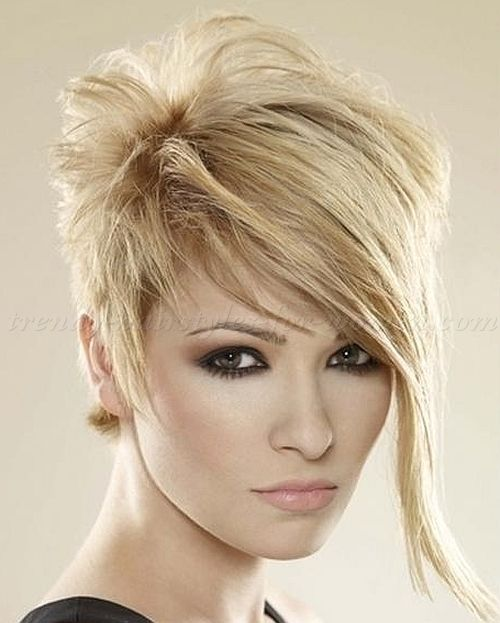 Shorthairstyleswithlongbangsshorthairlongfringe short short hair long bangs urmus Choice Image