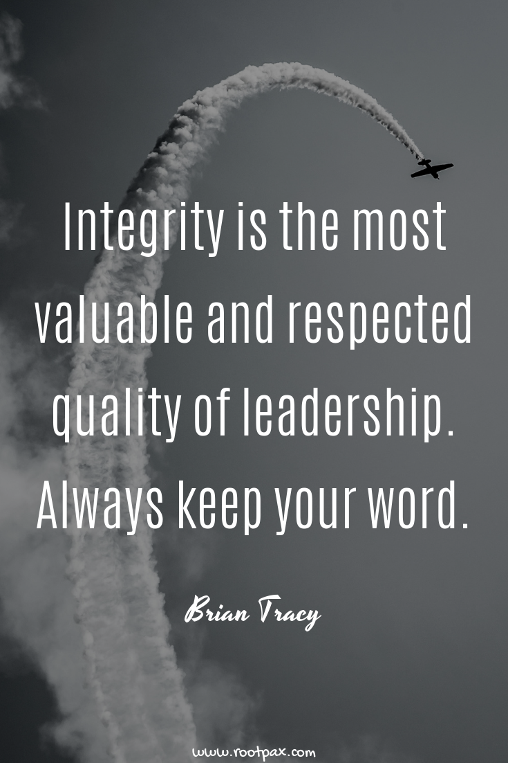 Leadership quotes, honesty, integrity, quotes about ...