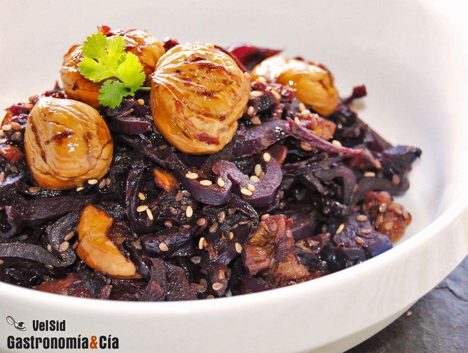 Recetas de col lombarda para guarnici n col lombarda for Cocinar col lombarda