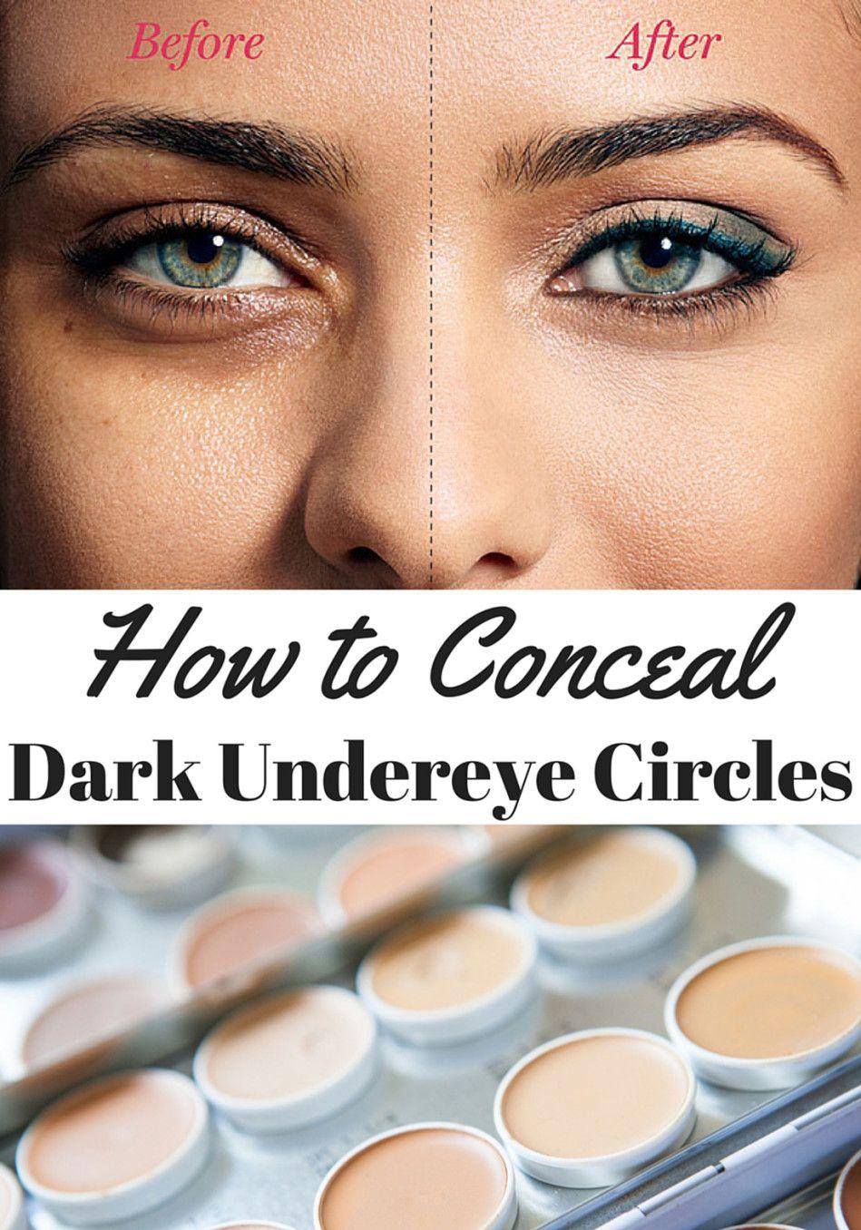 How To Conceal Dark Under Eye Circles Beauty Hair Makeup Dark