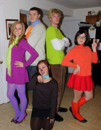Awesome group costume ideas!  sc 1 st  Pinterest & 10 Creative Group Halloween Costume Ideas | costumes | Pinterest ...