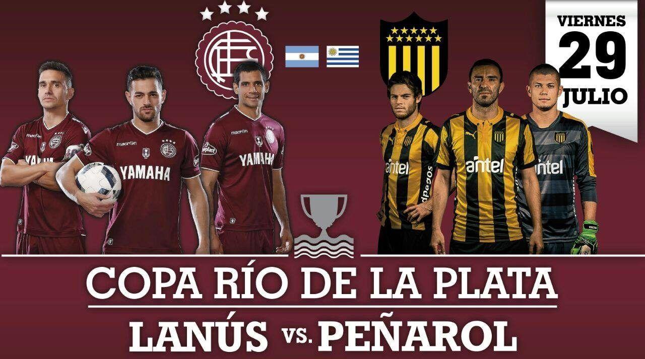 Tomorrow is the return of the Copa Río de la Plata Lanús