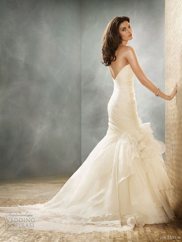 Jim Hjelm Wedding Dresses Fall 2011 Collection | Jim hjelm wedding ...