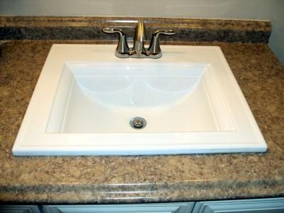 Kohler Memoirs White Topmount Bath Sink