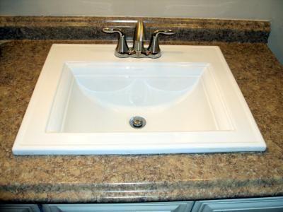 Kohler Memoirs White Topmount Bath Sink Rectangular Sink