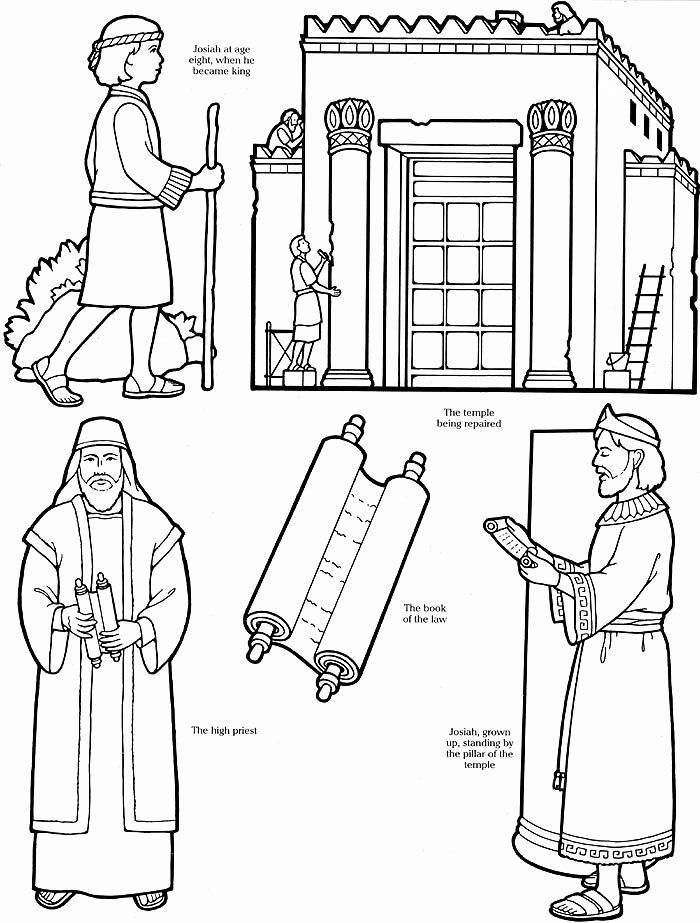 King Josiah Coloring Page Elegant Good News Children S