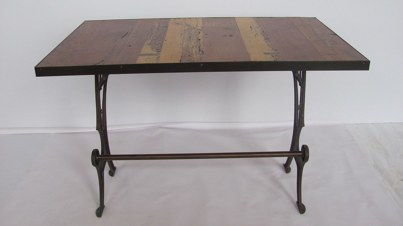 Reclaimed Wood Kitchen Island Made With Antique