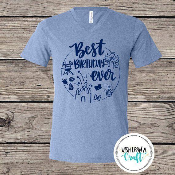 Best Birthday Ever Girl Happy Disney Shirts World Disneyland