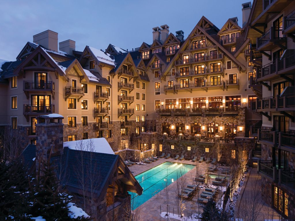 can't go wrong with a four seasons and the slopes of vail | places